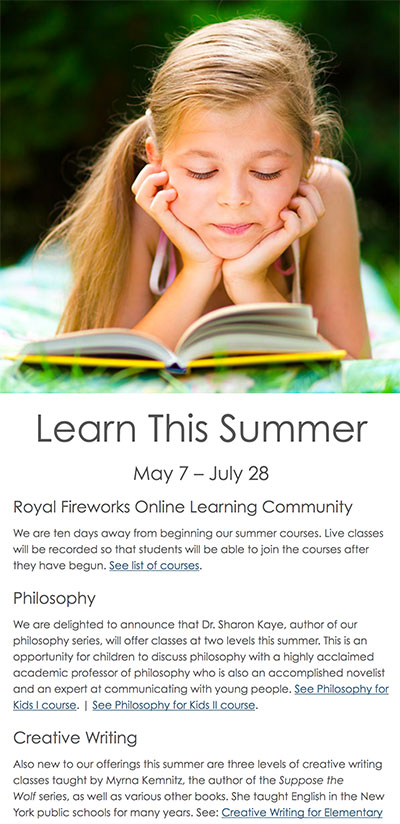 This summer learn with RFOLC